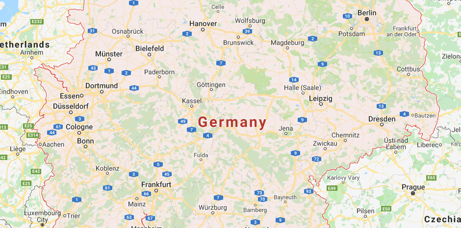 Germany Map Archives Earth View Maps
